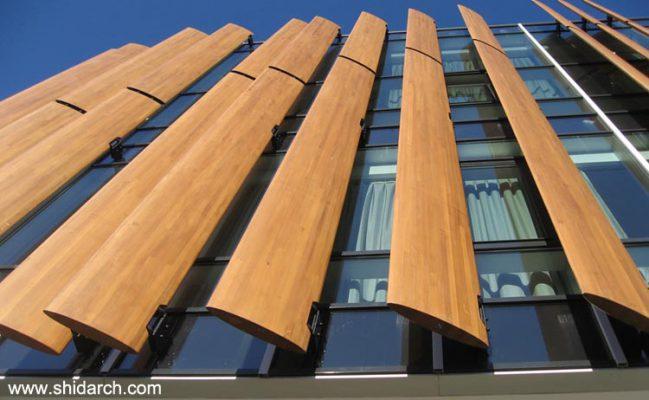 چوب ترموود-لوور-شیدارک