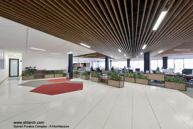 ساختمان اداری شرکت گلنان