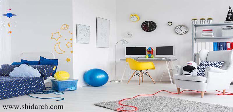 موکت اتاق کودک-شیدارک