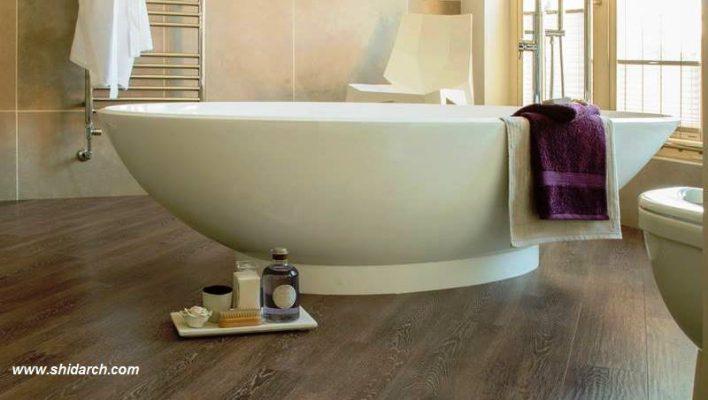 کفپوش حمام - 5 انتخاب خوب برای کف حمام و سرویس