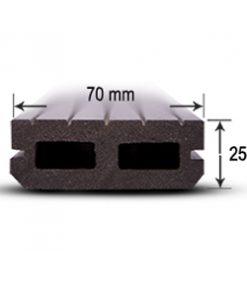 چوب پلاست چوپکس - کفپوش پرتردد HT