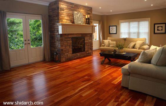 cherry wood parquet shidarch 4 - پارکت چوب گیلاس