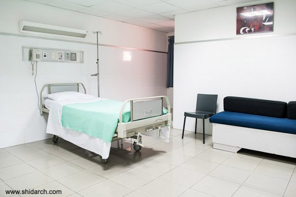 کفپوش بیمارستان - شیدارک